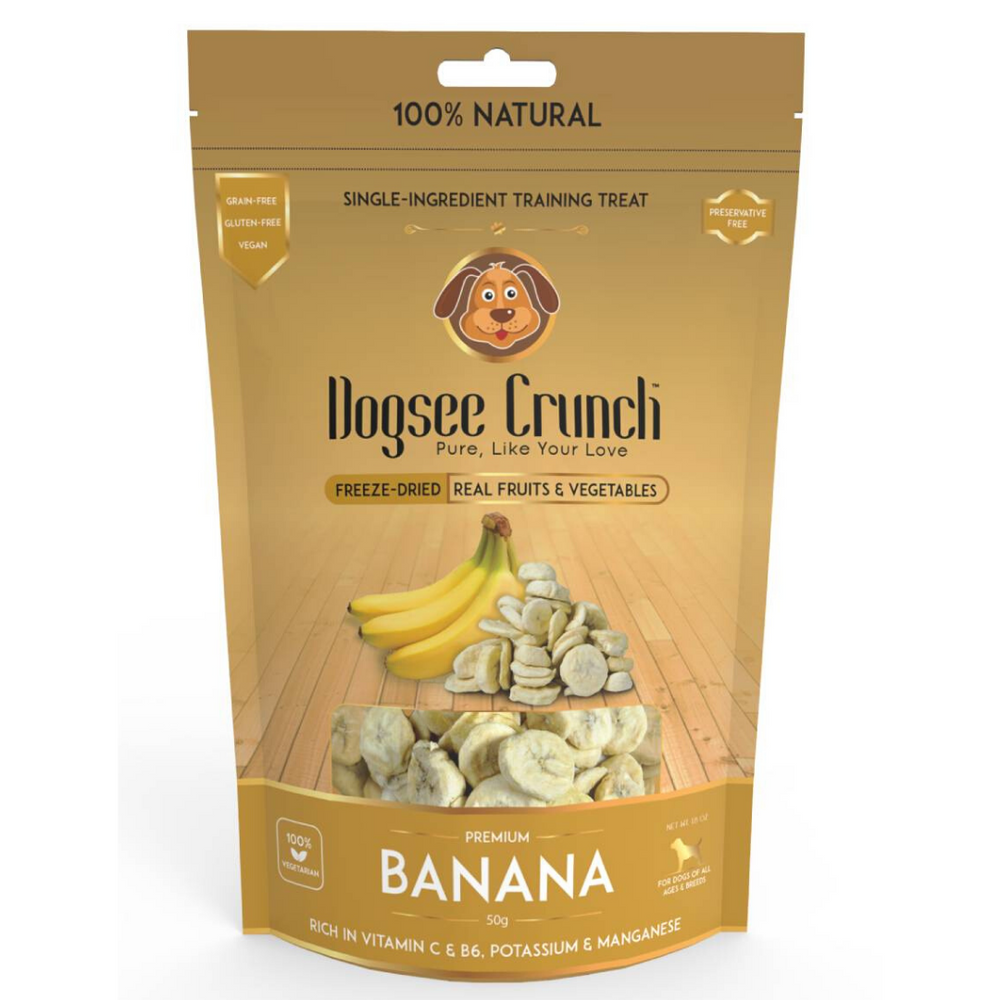Dogsee Crunch Banana Dog Treats