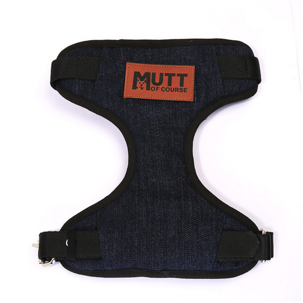 Mutt Of Course Dark Denim Harness