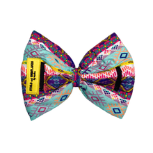 Stars and Snowflakes Cotton Bow Tie - Geometrical