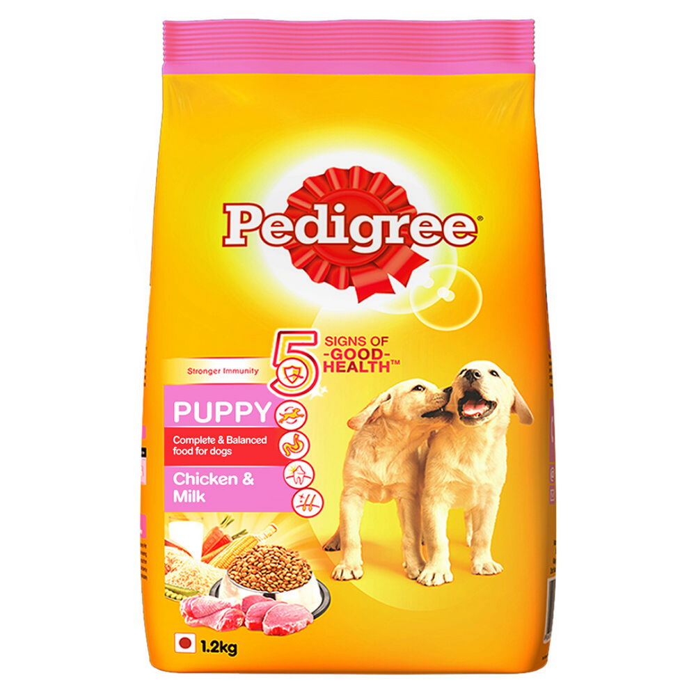 Pedigree Puppy Dog Food - Chicken and Milk