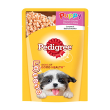 Pedigree Wet Dog Food ‐ Chicken Chunks in Gravy (Puppy) (Pack of 15 - 15 pouches x 70g)