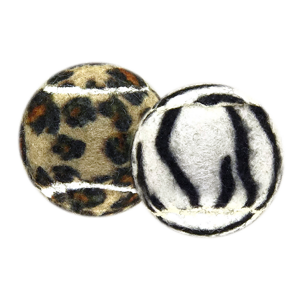 Petsport Cat Toys - Catnip Jungle Balls, 2 pk