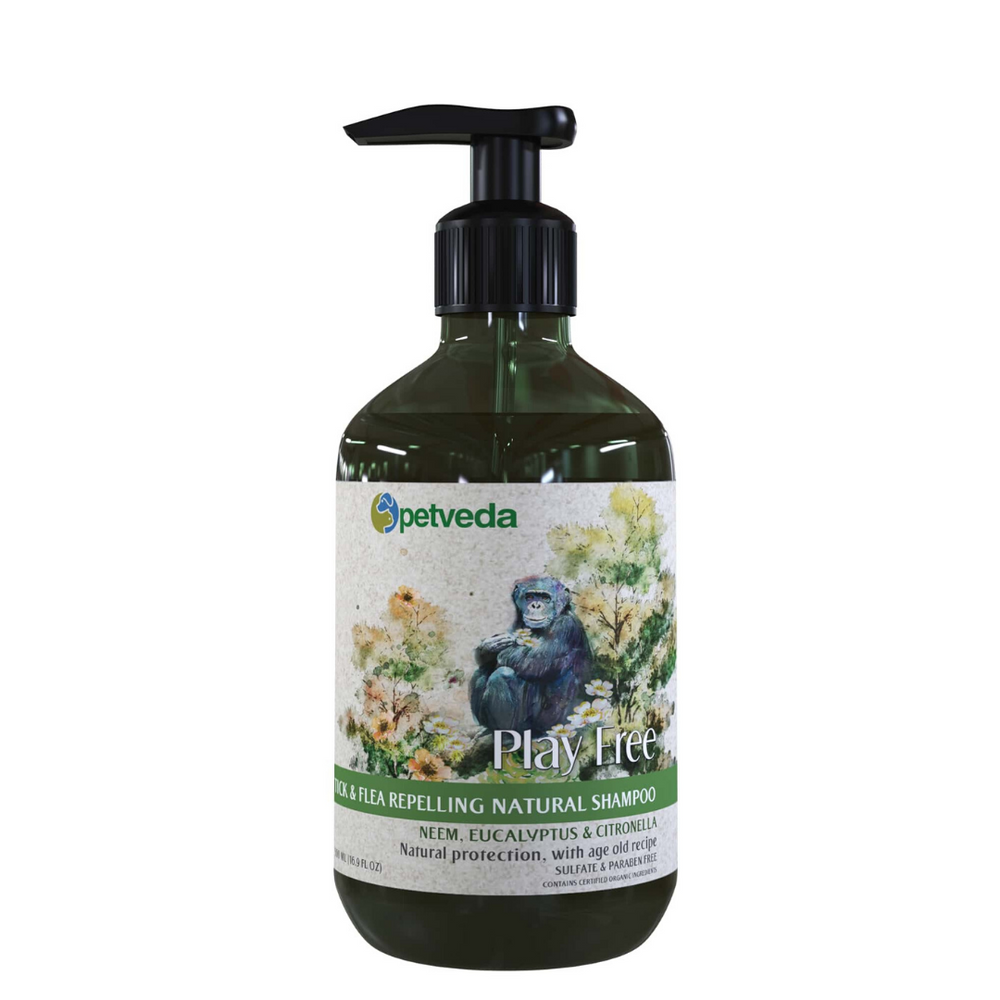 Petveda - Tick & Flea Repelling Natural Shampoo - 500ml