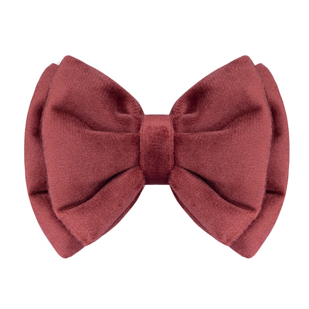 Petsy Amaya Cat Bow - Rustic Orange