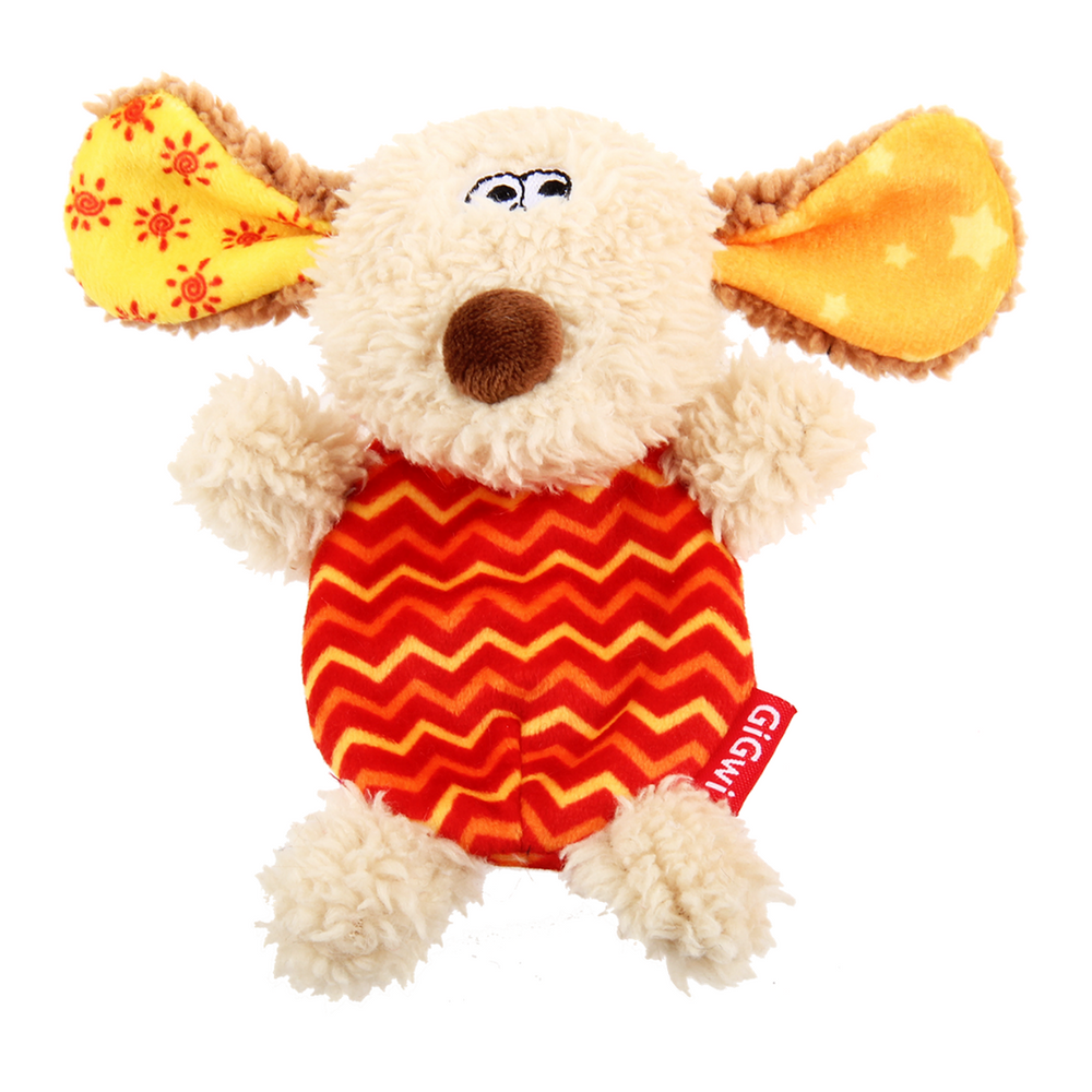 GiGwi Plush Friendz with refillable speaker - Dog