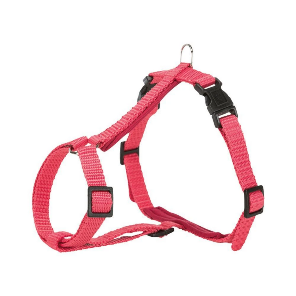 Trixie Premium Cat Harness with Leash - Coral - 4ft.