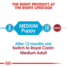 Royal Canin Wet Dog Food - Medium Puppy (10 x 140g Pouches)