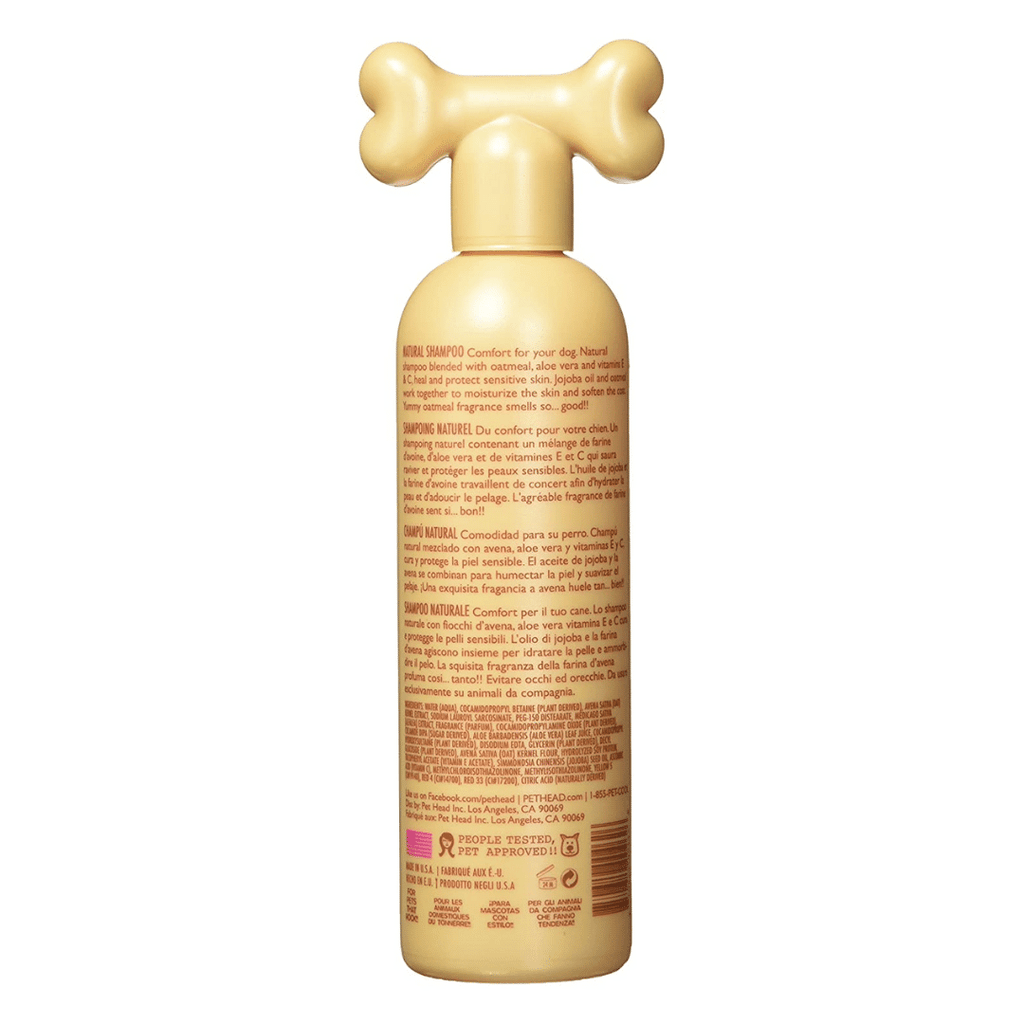 Pet Head Dog Shampoo - Oatmeal Shampoo 345ml