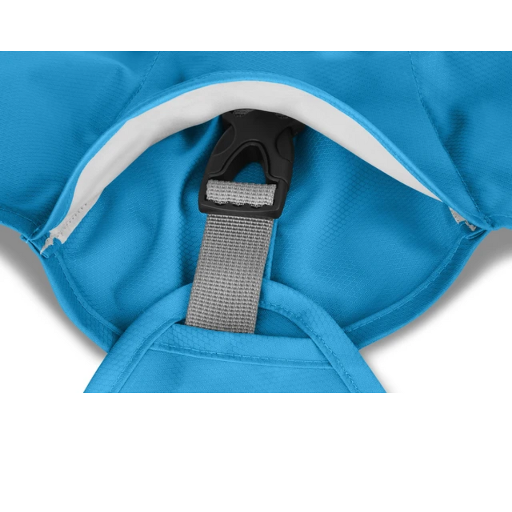 Ruffwear Sun Shower Dog Rain Coat - Blue Dusk