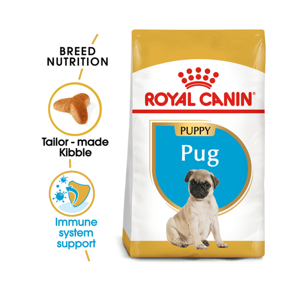 Royal Canin Pug Puppy/Junior (Multiple Sizes)