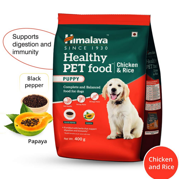 Himalaya Healthy Pet Food - Puppy - Chicken & Rice