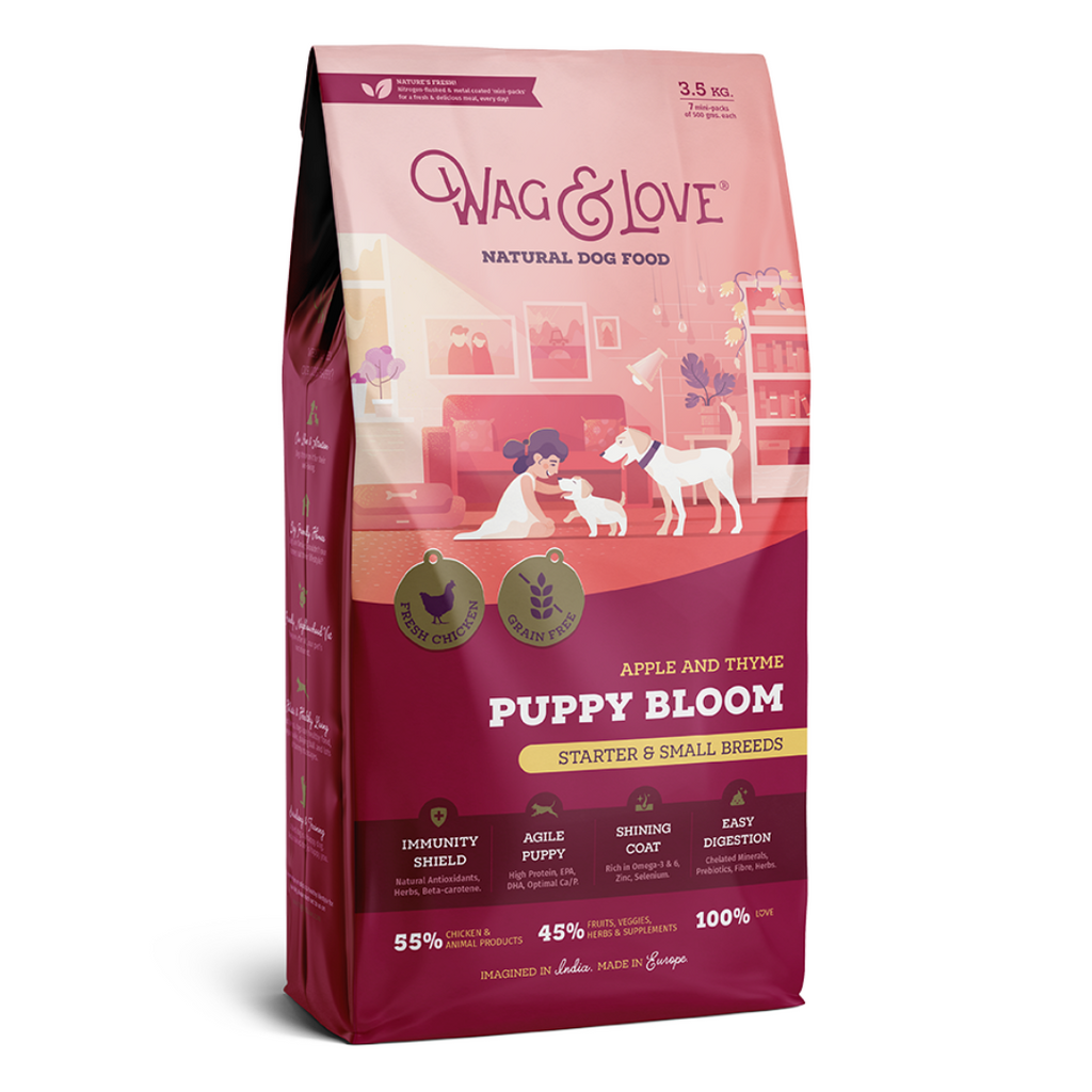 Wag & Love Puppy Bloom (Small & Medium Breeds)