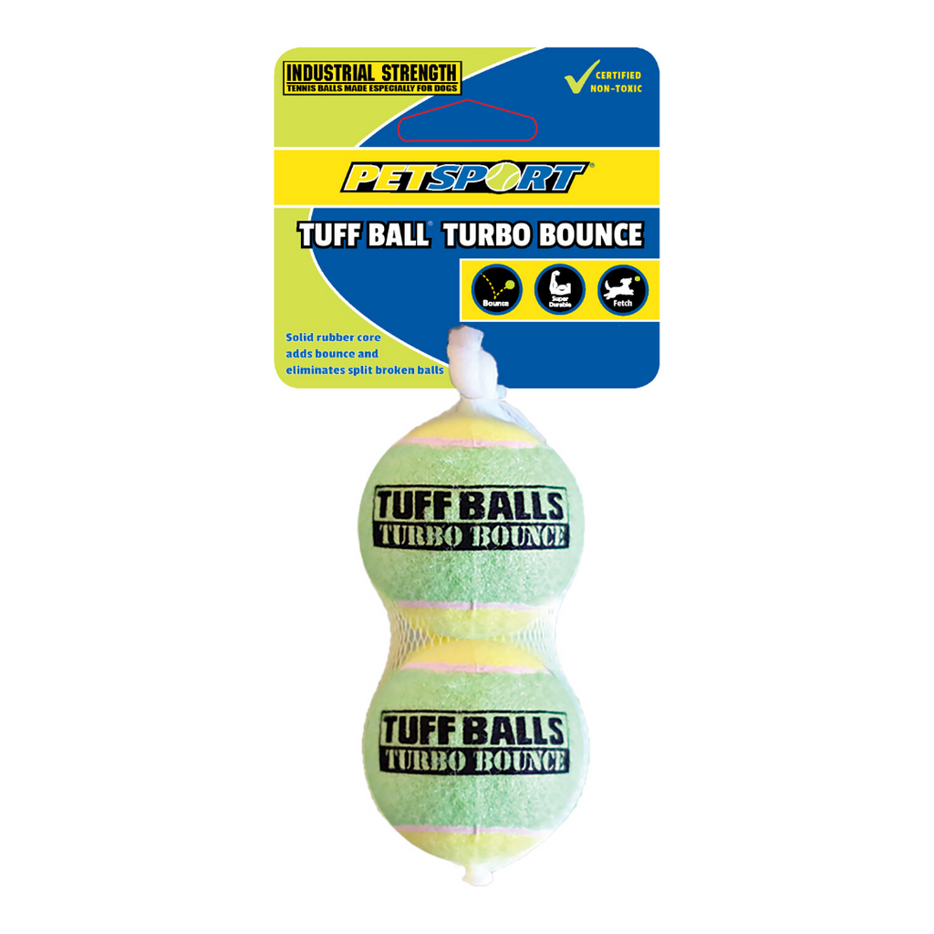 Petsport Tuff Balls Turbo Bounce