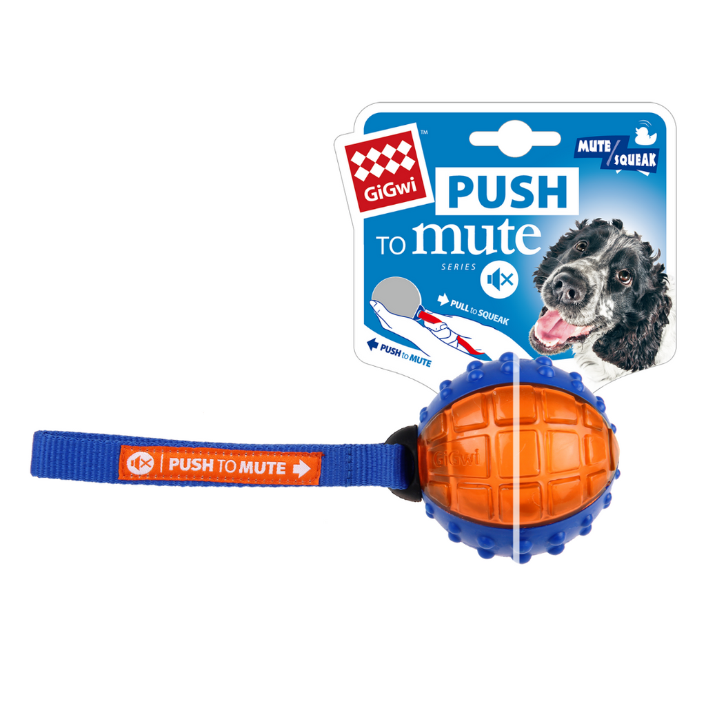 GiGwi Push-To-Mute Series - Regular Ball
