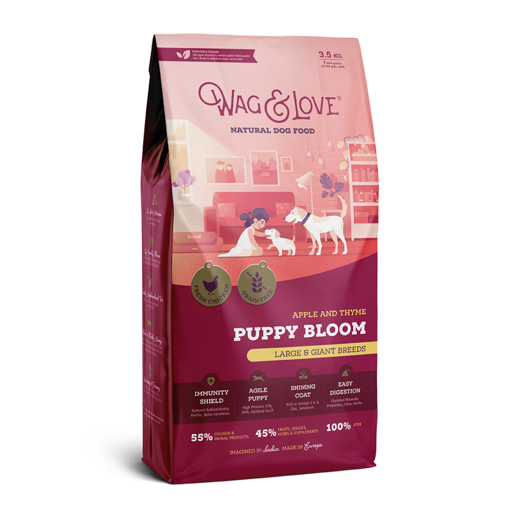 Wag & Love Puppy Bloom (Large & Giant Breeds)
