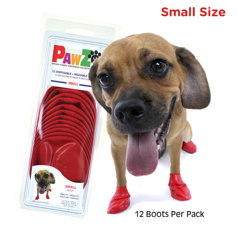 Protex Pawz Color - Reusable & Disposable Dog Boots