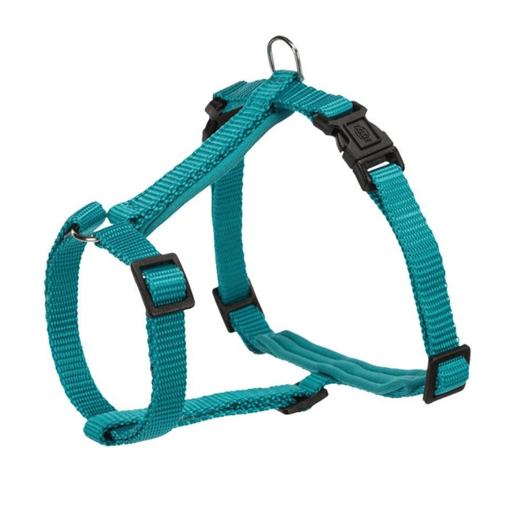 Trixie Premium Cat Harness with Leash - Ocean - 4ft.
