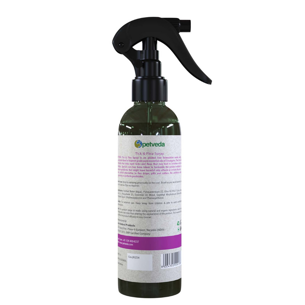 Petveda - Guard - Tick & Flea Repelling Spray - 250ml