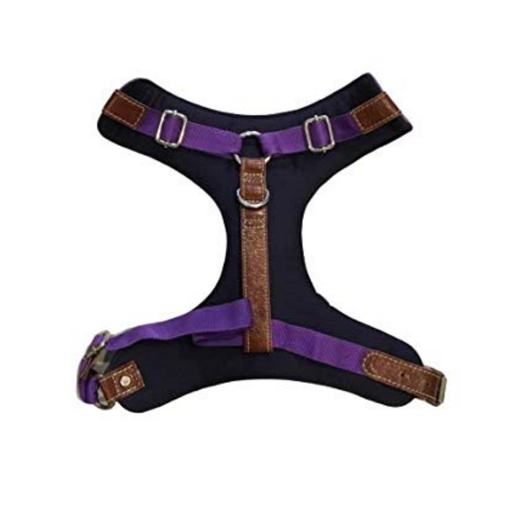 PoochMate Harness - Purple Felt