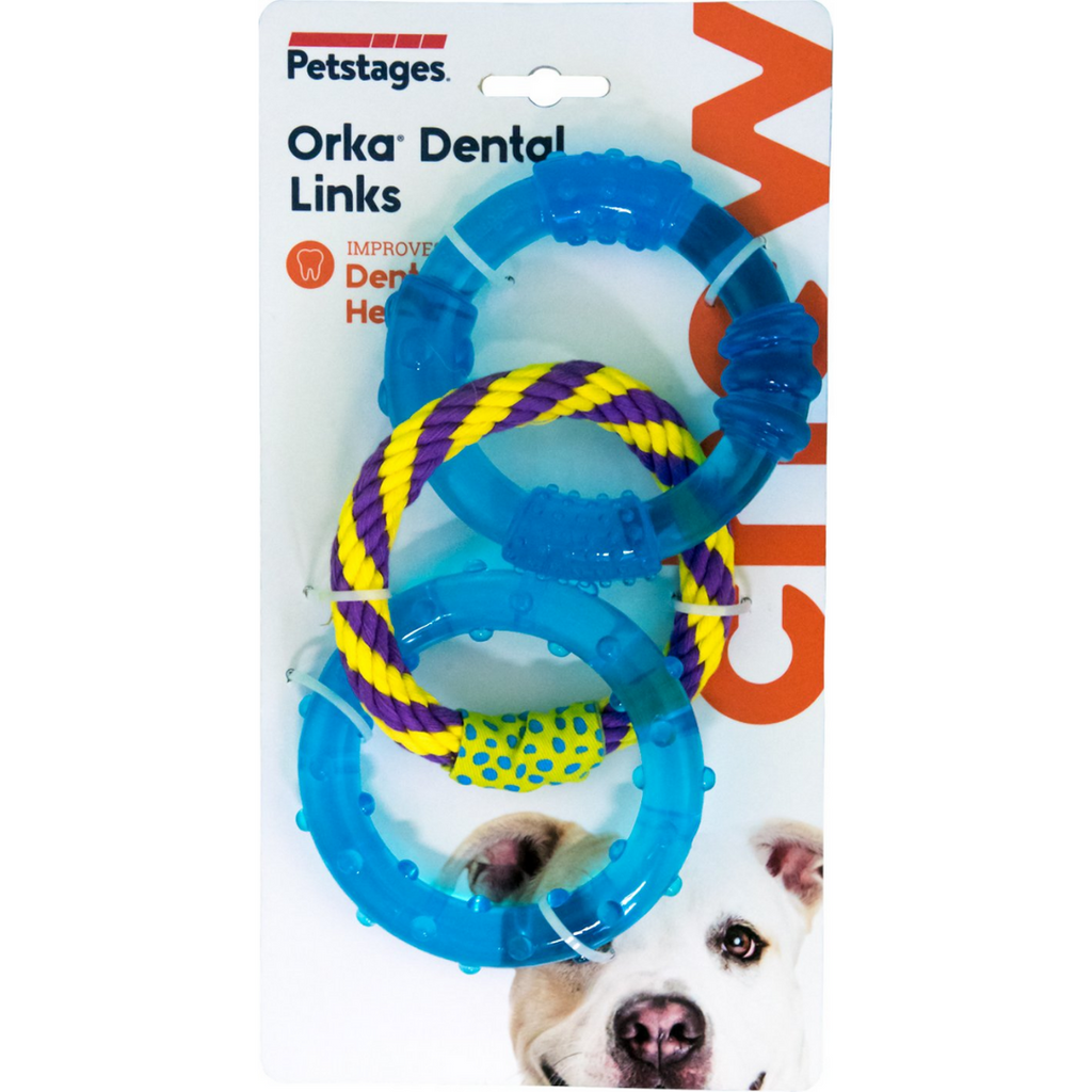 Petstages ORKA Triple Dental Links