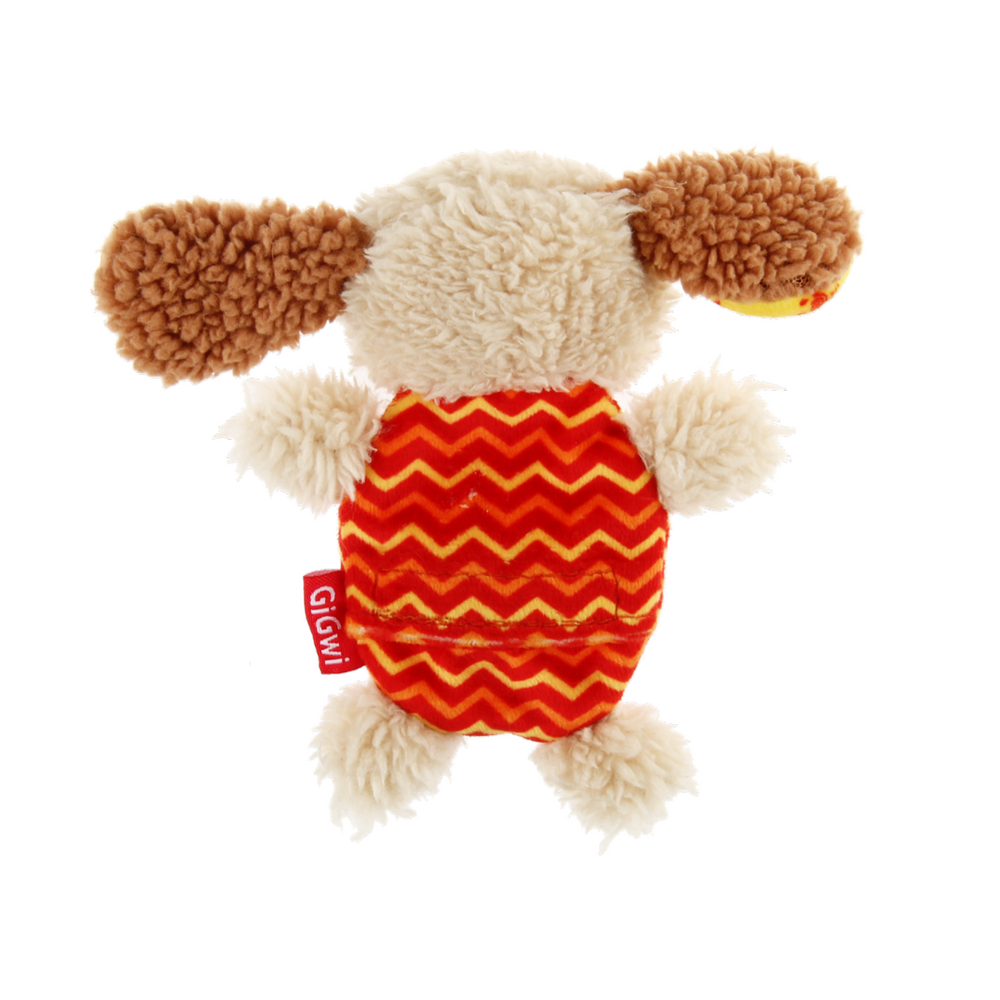 GiGwi Plush Friendz with refillable squeaker - Dog