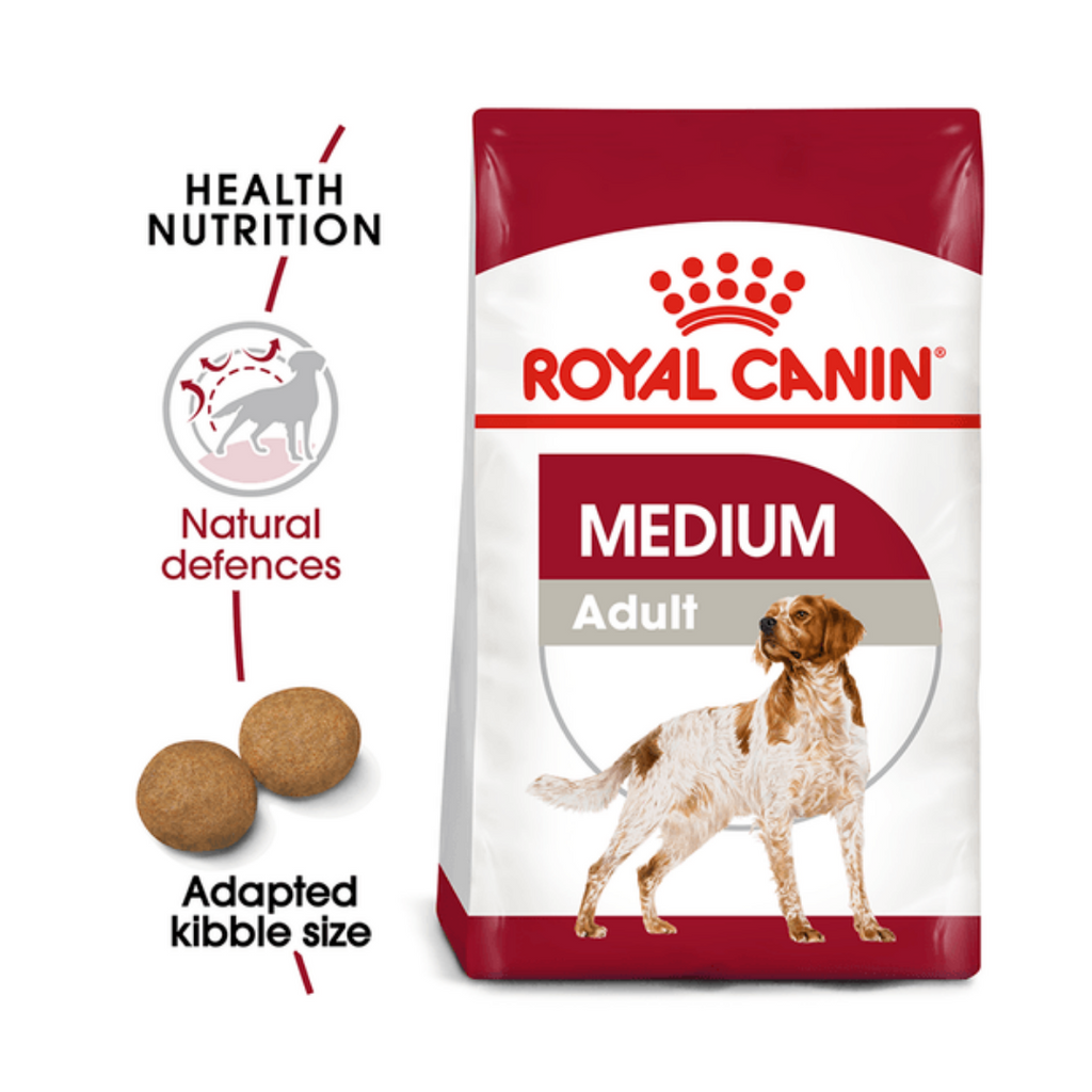 Royal Canin Medium Breed Adult (Multiple Sizes)