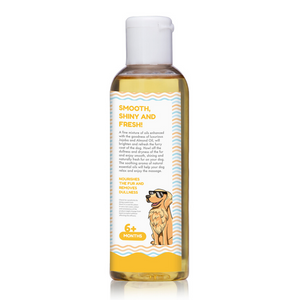 Papa Pawsome Shine O'Fur Massage Oil - 100ml