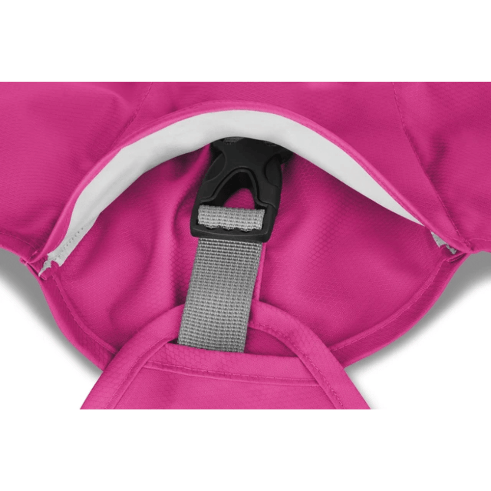 Ruffwear Sun Shower Dog Rain Coat - Alpenglow Pink
