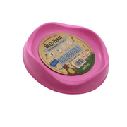 Becopets Bamboo Cat Bowl - Pink