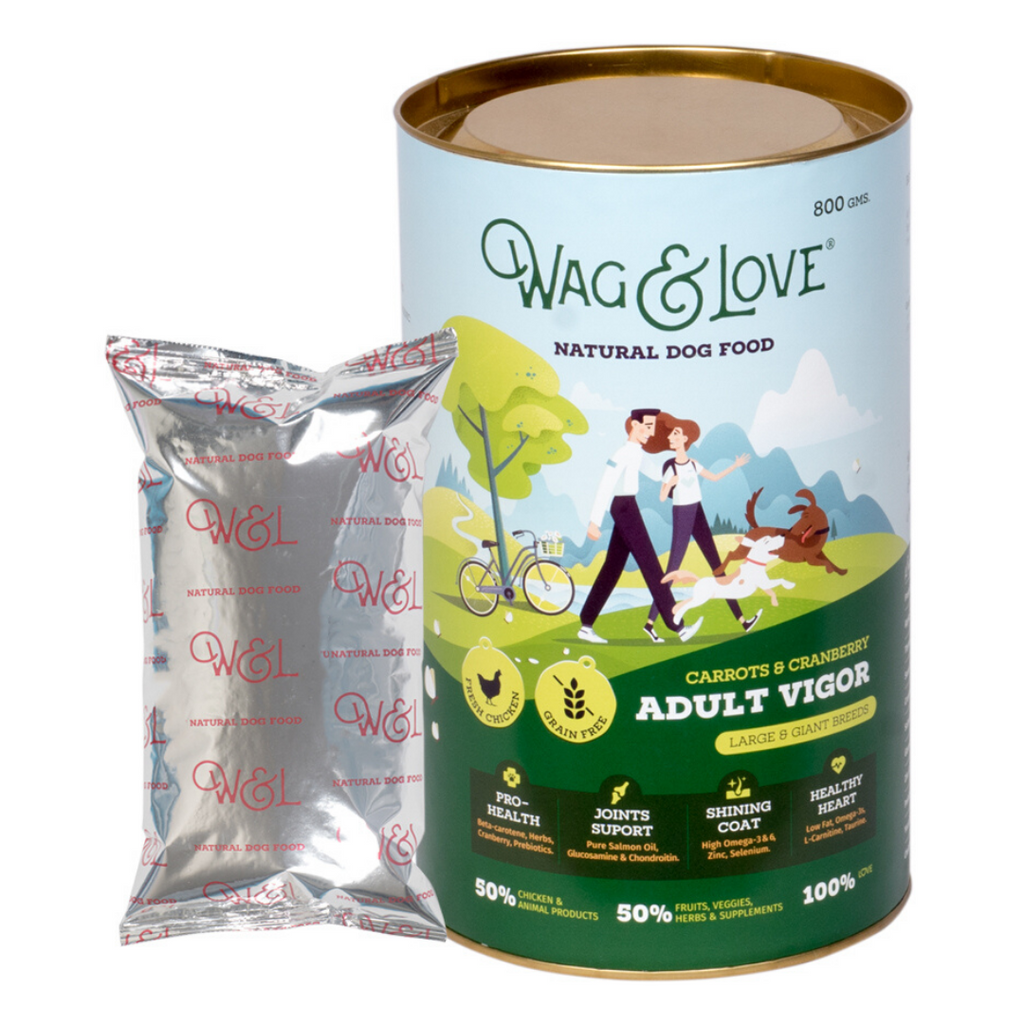 Wag & Love Adult Vigor (Large & Giant Breeds)