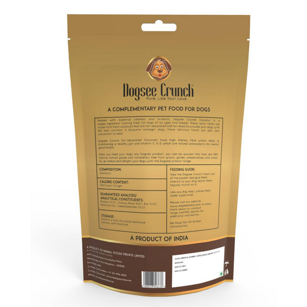 Dogsee Crunch Coconut Dog Treats