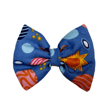 Stars and Snowflakes Cotton Bow Tie - Planets