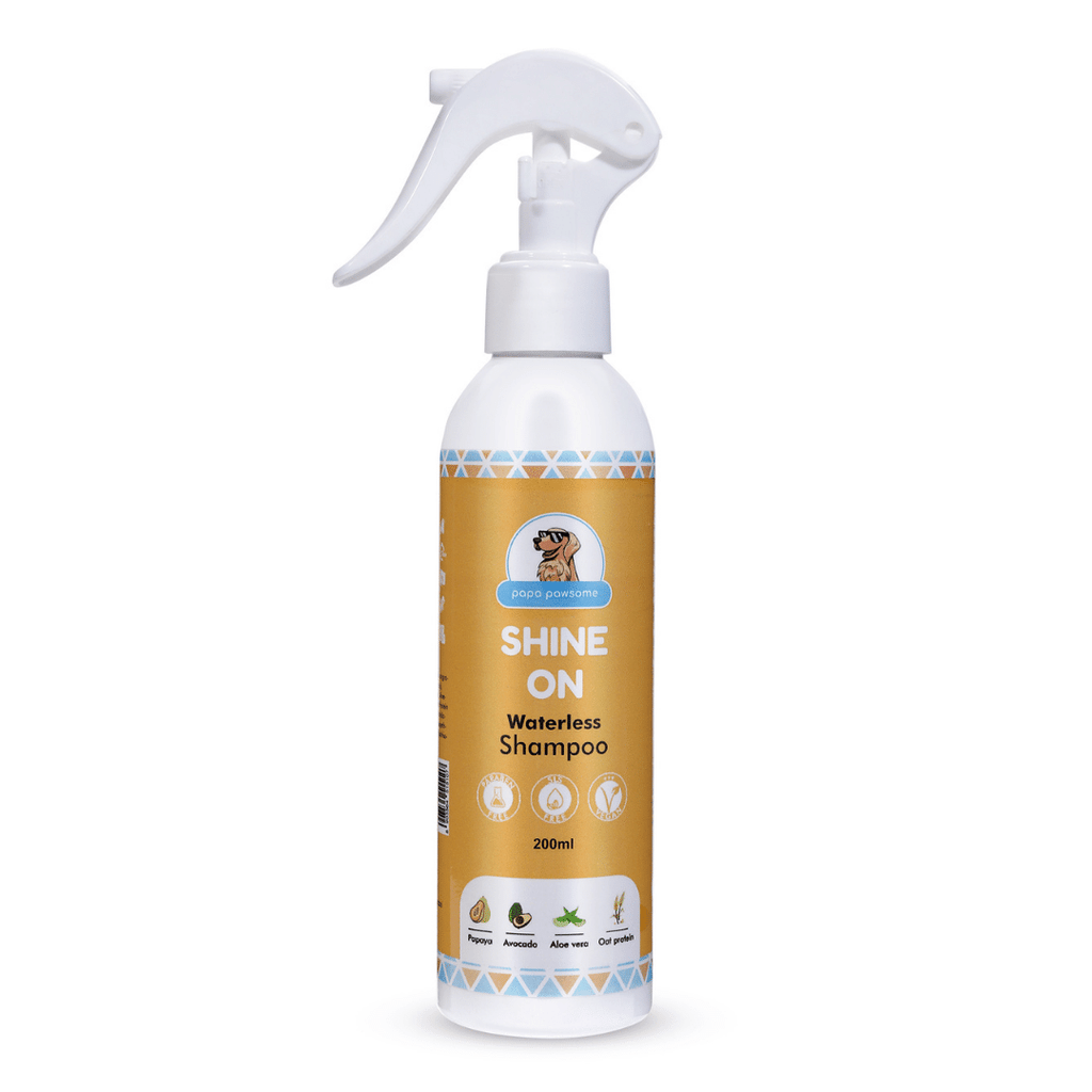 Papa Pawsome Shine On Waterless Shampoo - 200ml