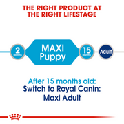 Royal Canin Wet Dog Food - Maxi Puppy (10 x 140g Pouches)