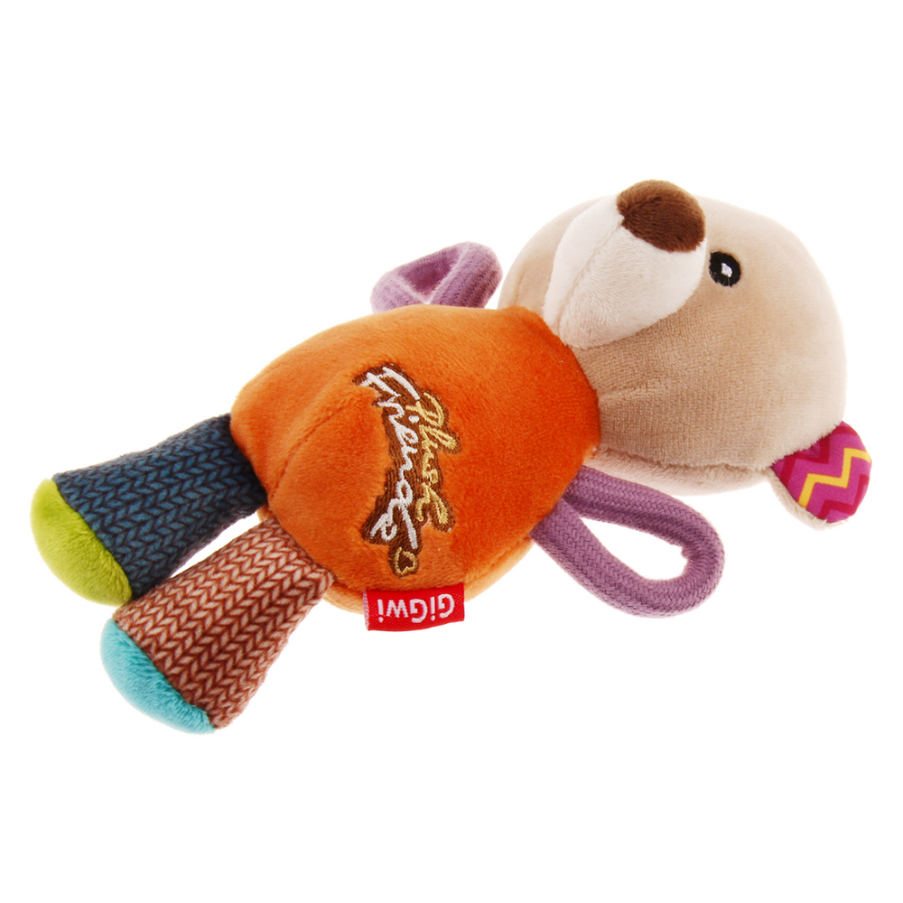 GiGwi Plush Friendz with squeaker - Bear