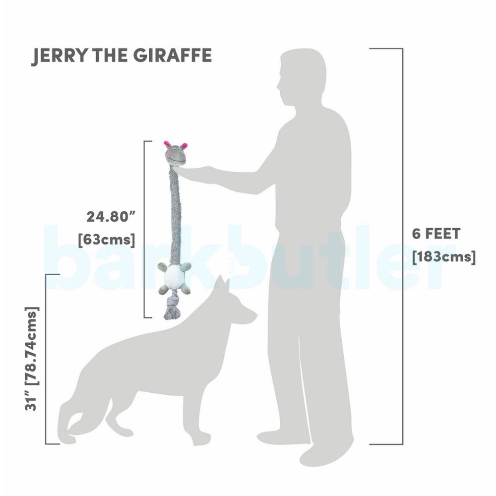 Barkbutler - Jerry the Giraffe (Medium/Large Breeds)