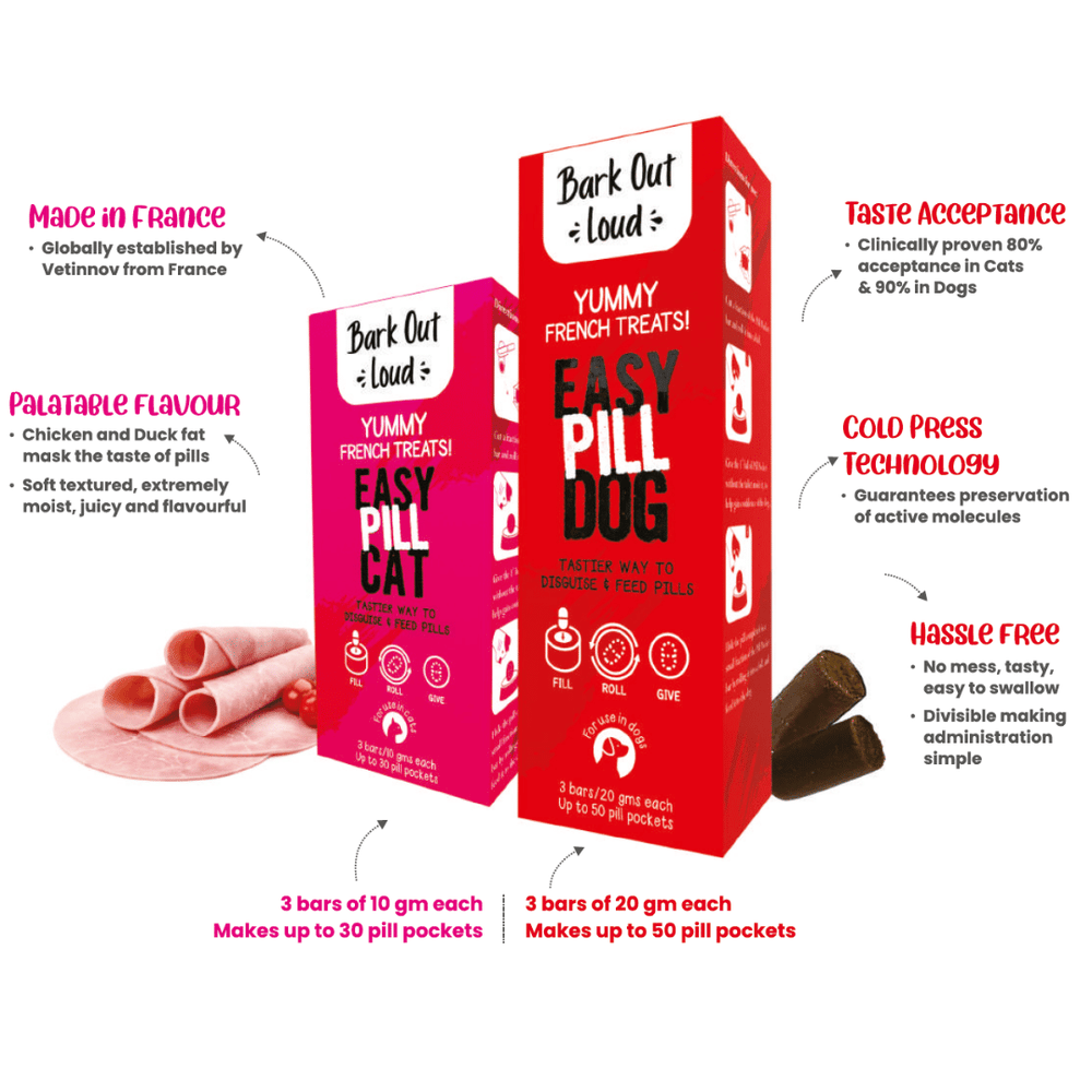 Bark Out Loud Easy Pill For Cats & Dogs
