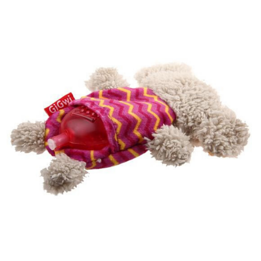 GiGwi Plush Friendz with refillable squeaker - Elephant