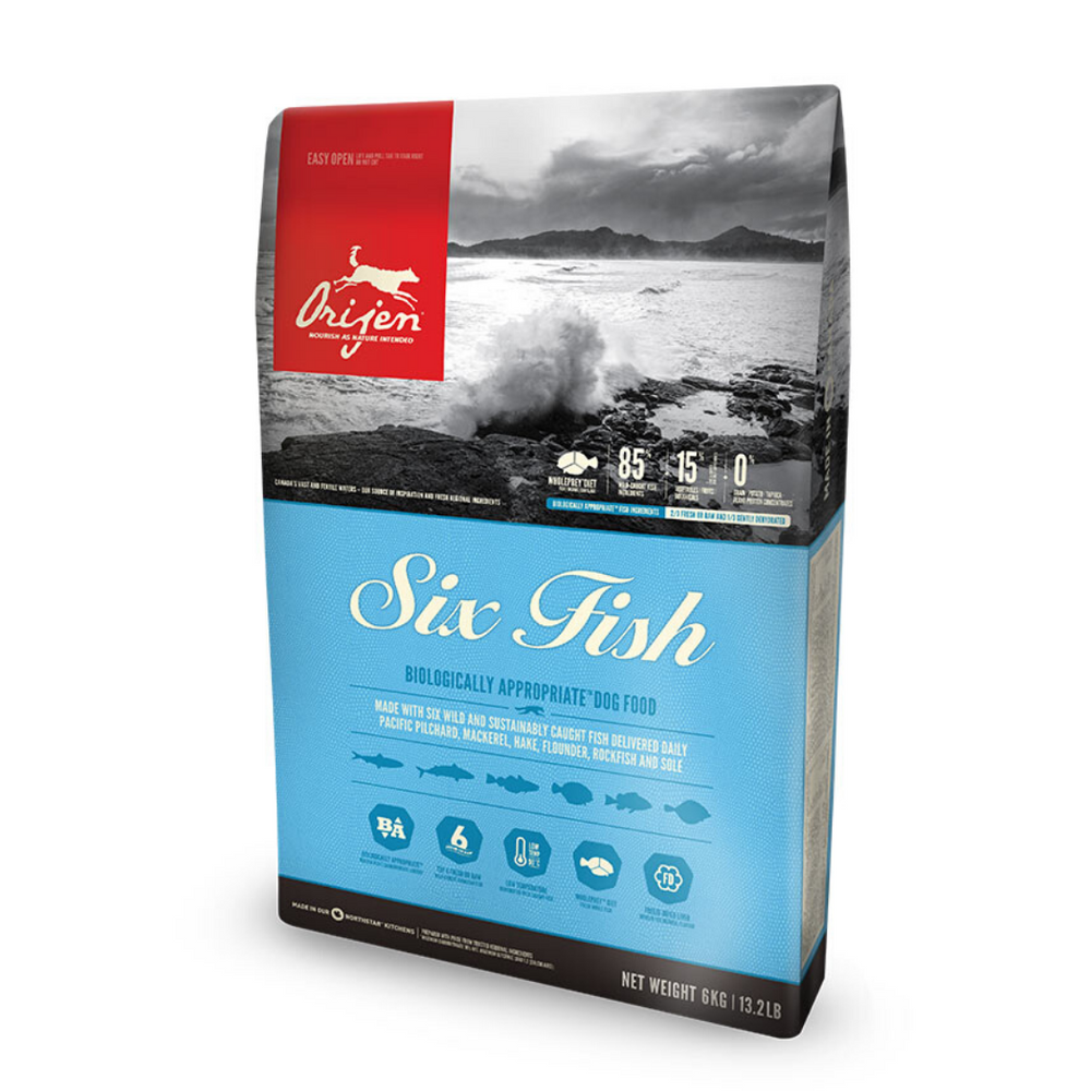 Orijen Six Fish Dog Food (Multiple Sizes)