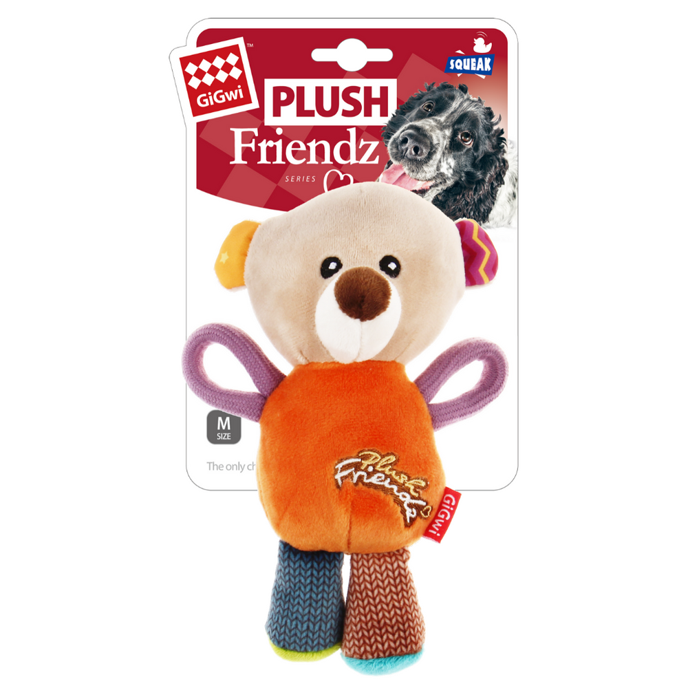 GiGwi Plush Friendz with speaker - Bear