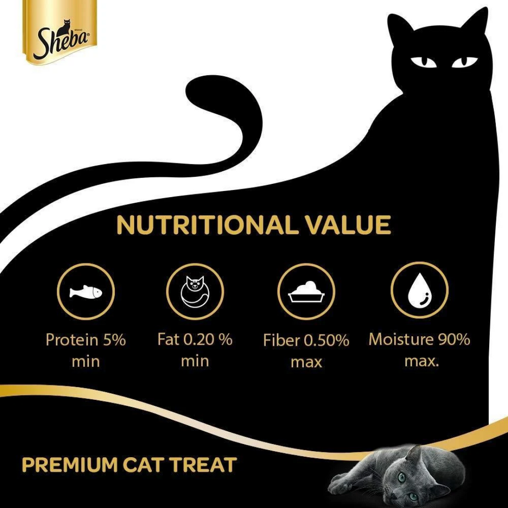 Sheba Melty Cat Treat - Sasami Chicken (Pack of 6)