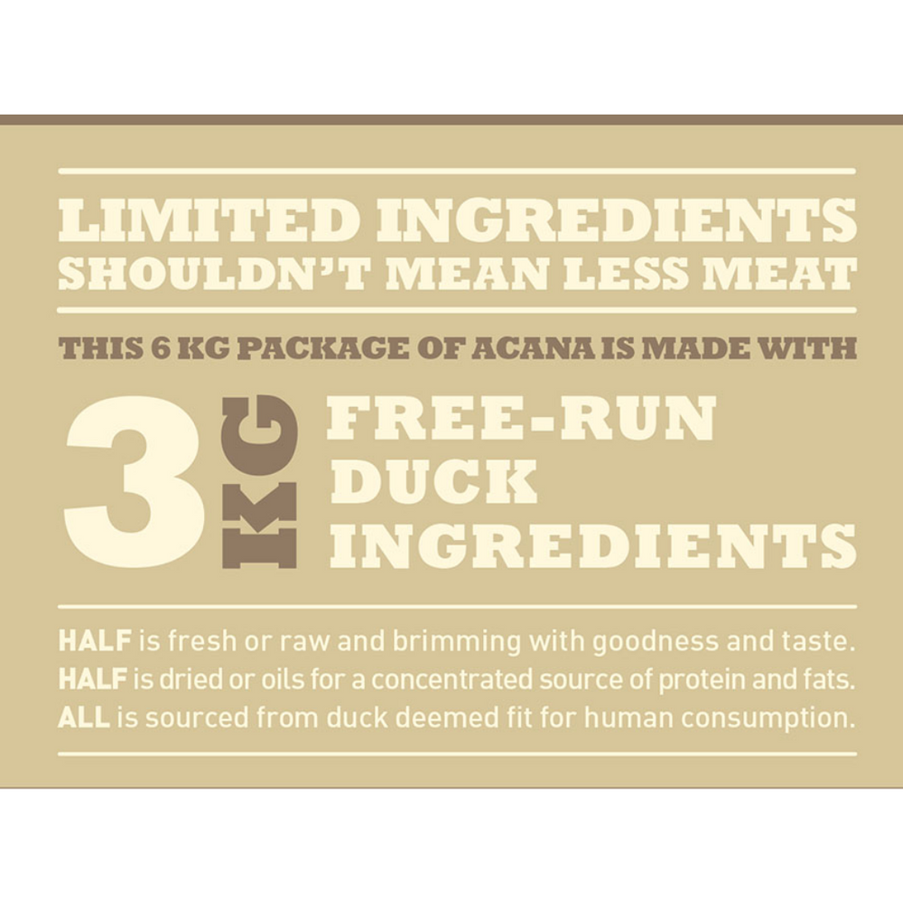 Acana Free Run Duck Dog Food