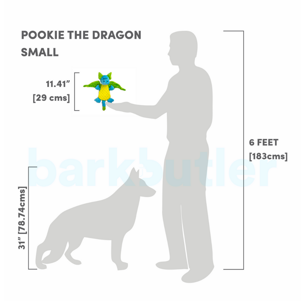 Barkbutler - Pookie the dragon (Small/Medium Breeds)