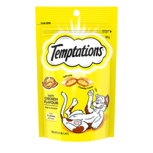 Temptations Cat Treats - Chicken Flavor - 85g