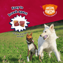 Awesome Pawsome Dog Treats - Peanut Butter & Cranberry