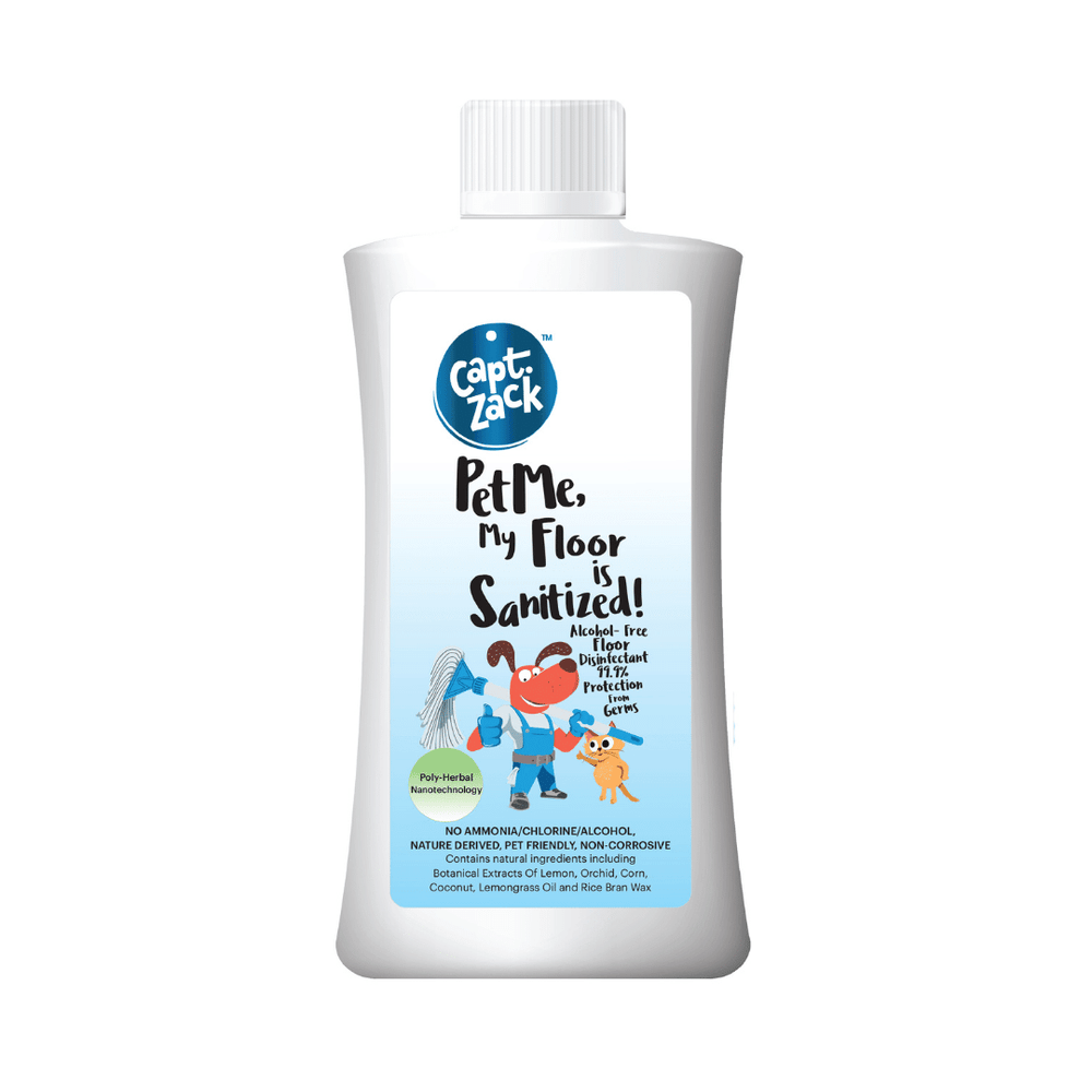 Captain Zack Floor Cleaner - Pet Me My Floor Is Sanitized - 500ml
