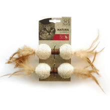 M-Pets Cat Toys - Natura Dumbell