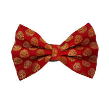 Furvilla Bow Tie - Red N Gold (Petsy Exclusive)