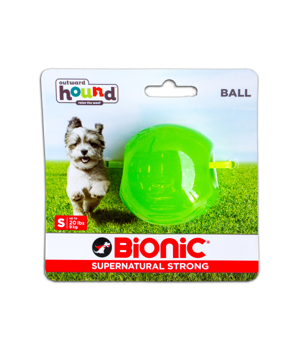 Outward Hound Bionic Opaque Ball - Small (Colours Available)
