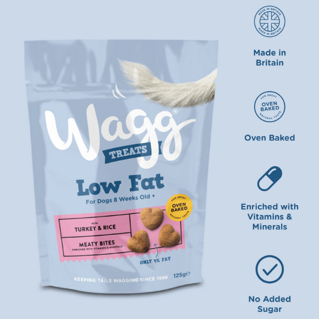 Wagg Low Fat - Turkey & Rice
